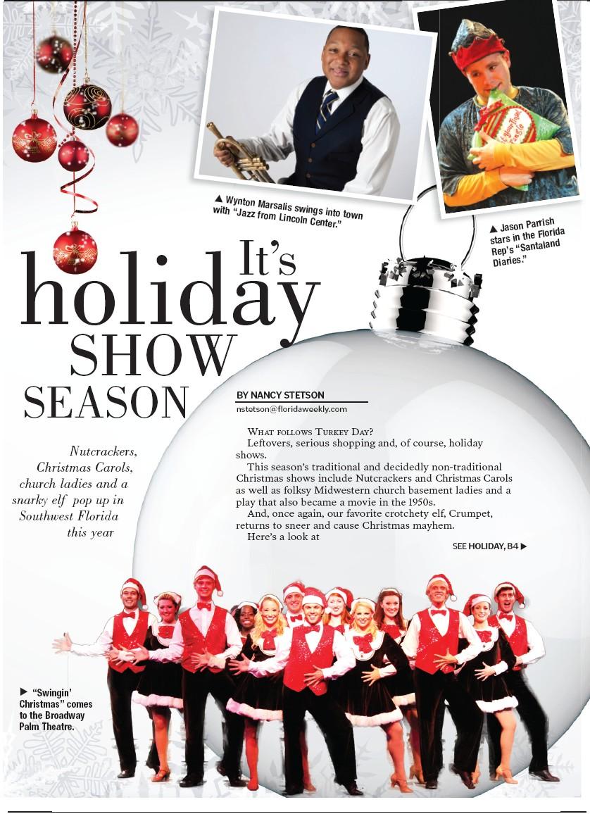 It\'s holiday SHOW SEASON   Charlotte County Florida Weekly
