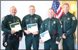 Charlotte County Sheriff's Office Quarterly Awards at