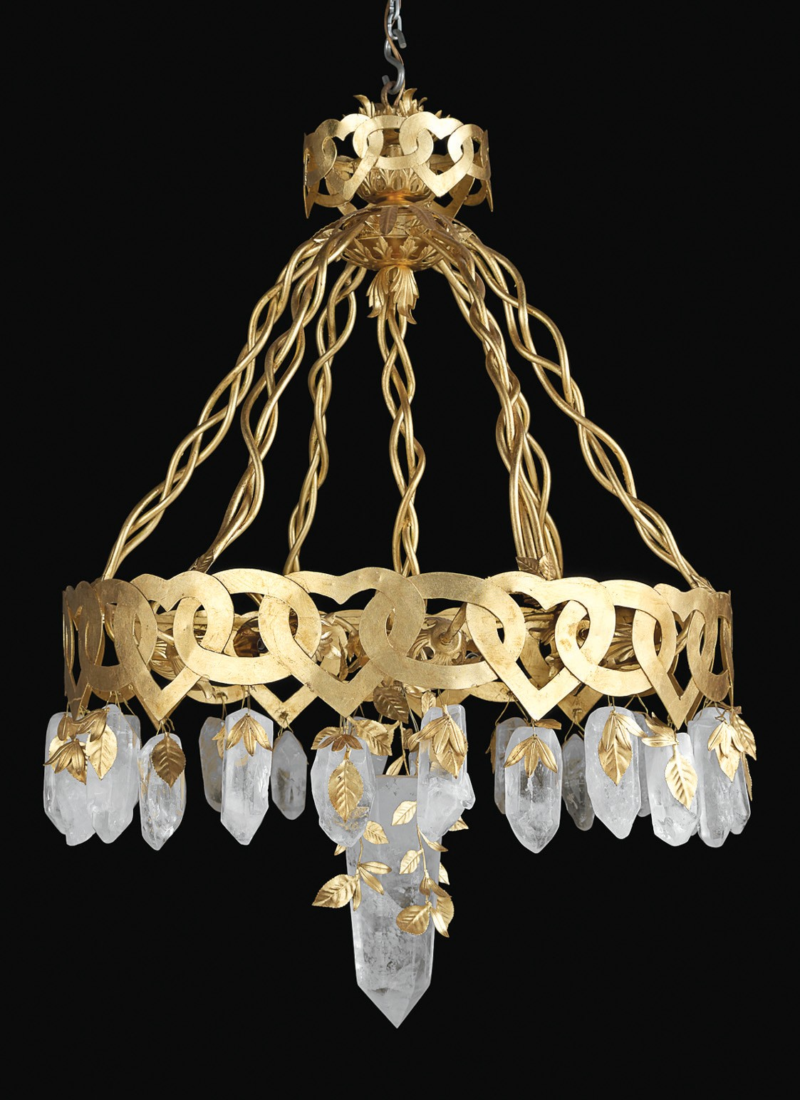 Coco Chanel Designed Chandeliers Too Charlotte County Florida Weekly - Used chandelier crystals